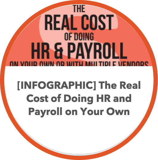 The Real Cost of Doing HR & Payroll on Your Own or with Multiple Vendors Infographic – A Zuman eBook